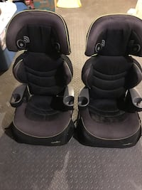 Toddler black and gray EvenFlo car seat Ajax, L1Z 1R2