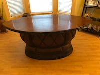 Dining room table. fits 6 chairs.  Deltona, 32738
