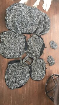 Universal cheetah print car seat covers East Luther Grand Valley, L9W