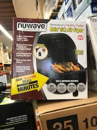 NuWave  Brio 3 Qt. Black Air Fryer Temple City, 91780