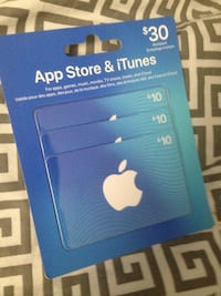 iTunes 30 for only 23 Regina, S4N 2X1