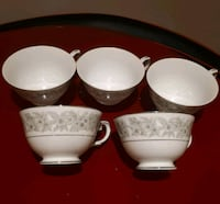 Set of 5 china cups/ make in Japan  Pointe-Claire, H9R