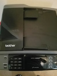 BROTHER PRINTER COMES WITH INK
