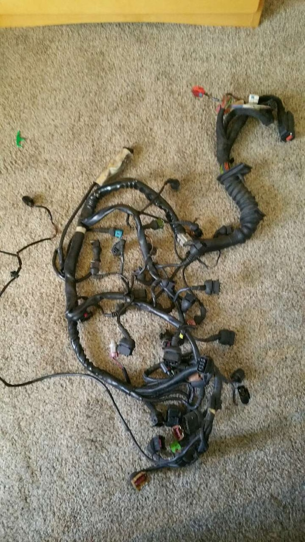 Audi 2.7t Engine wiring harness (APB) A Engine Wiring Harness on