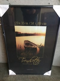 Used 23 X 35 Poster Frame New In Plastic Wrap For Sale In Charlestown