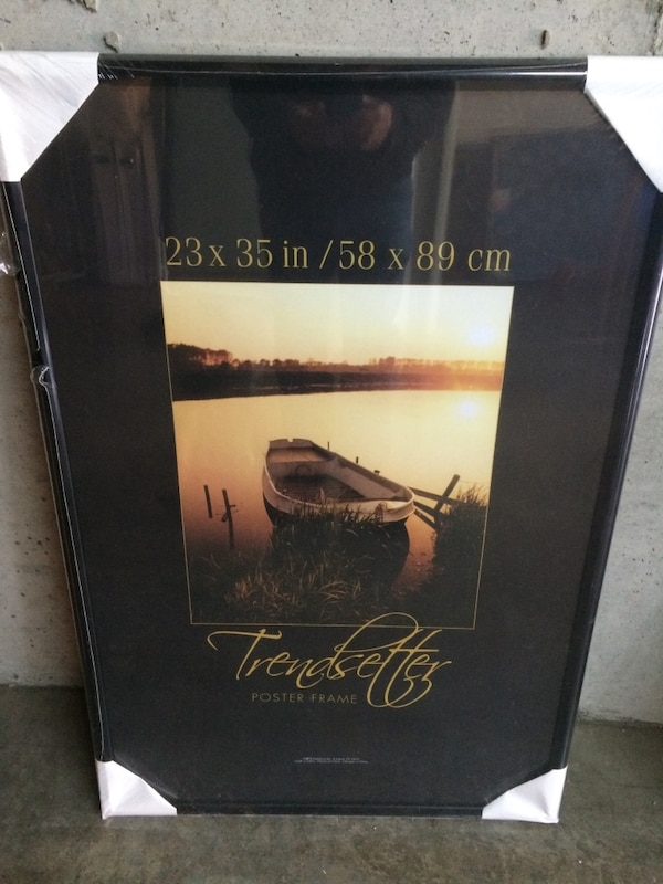 Used 23 X 35 Poster Frame New In Plastic Wrap For Sale In