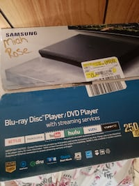 Samsung Blue ray and DVD player WASHINGTON