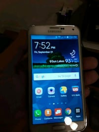 white Samsung Galaxy android smartphone Chandler, 85248
