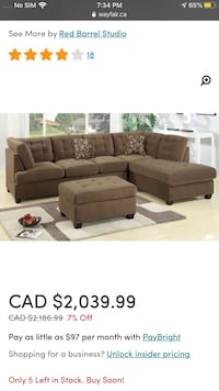 packaged coffee sofa set $ 1899 with delivery