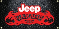 Jeep Banner 2foot x 4foot $35