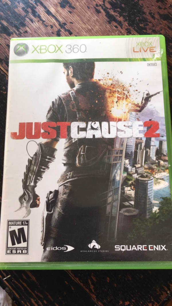 Xbox 360 just cause 2 great shape