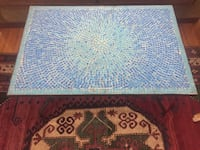 Mosaic coffee table or patio table