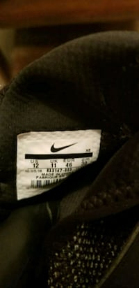 black and white Nike textile Brownstown, 47220