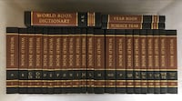 Complete Set of World Book Reference Books of 1978
