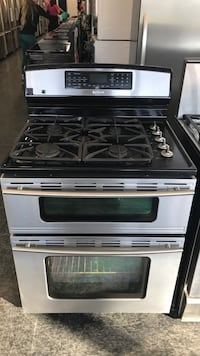 Gas Stove Dual Fuel