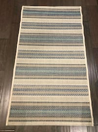 Brand new indoor/outdoor accent rug Mississauga, L5J 4E6
