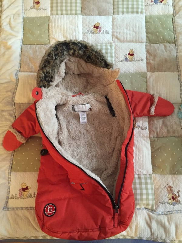 1d56ab709593 Used Blue banana baby bunting bag (snowsuit) for sale in New York - letgo