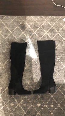 Over the knee Steve Madden boots! Size 7