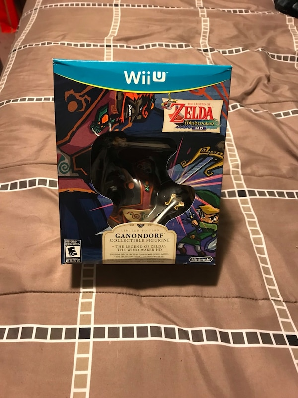 Legend Of Zelda Wind Waker Hd Wii U Collectors Edition Brand New Never Played