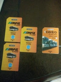 3 Centro Max bus passes. 1 Centro 20-Ride bus pass Syracuse, 13204