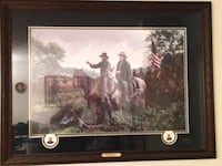 New Day at Appomattox LE Artist Proof by John Paul Strain Framed and signed on glass Manassas, 20110