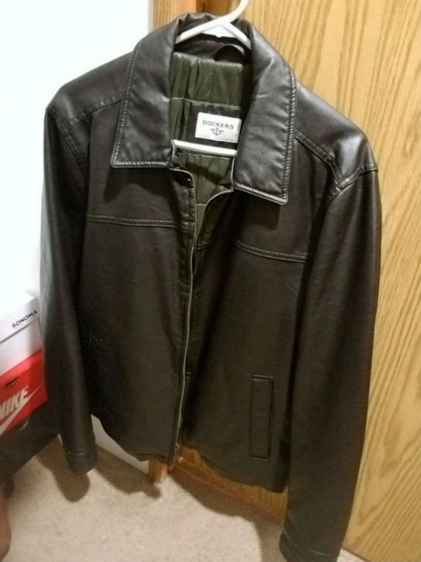 1127d15bd Dockers Leather Jacket