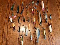 Old lure collection Anchorage, 99503