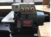 Juki MO-804 Industrial 3 Thread Industrial Serger with Table and Motor. Los Angeles, 90016