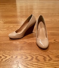 Nude Wedge Heels Size 9.5 Fairfax, 22032