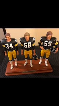 DANBURY MINT STATUE STEELERS LAMBERT HAM Essex, 21221