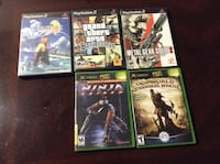 Different ps2 & Xbox games  Zanesville, 43701