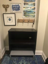 Black wooden console/tv stand Pickering, L1V