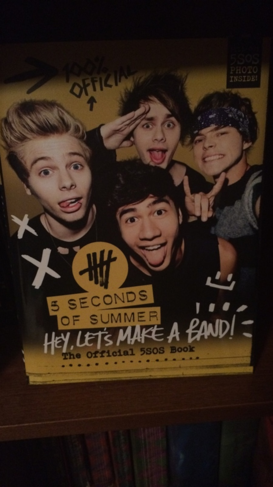 5 seconds of summer hey let s make a band the official 5sos book in champaign letgo