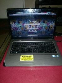 "HP G72  entertainment laptop ""huge 17inch screen"" 1921 mi"