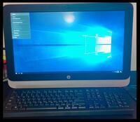HP all in one desktop computer. 19.5 HD WLED display, DVD/CD burner/player, webcam and Microsoft speakers. WiFi . USB port. Also includes a Razor mouse. Window 10 operating system.  Looks brand new and in great conditions. Rockledge, 32955