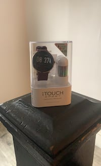 Men's I touch sport smart watch with ear buds