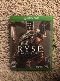 Xbox One Ryse Son of Rome game case Henderson, 89012