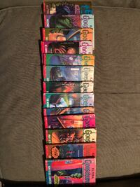 GOOSEBUMPS ORIGINAL NOVELS!!!!