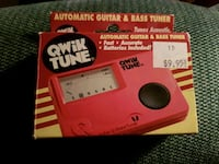 Automatic guitar & bass tuner