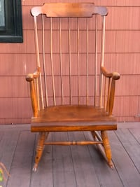 Nice Wooden Rocking Chair  Newton, 02458