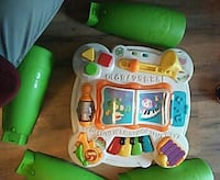 Leap frog sit to stand play table