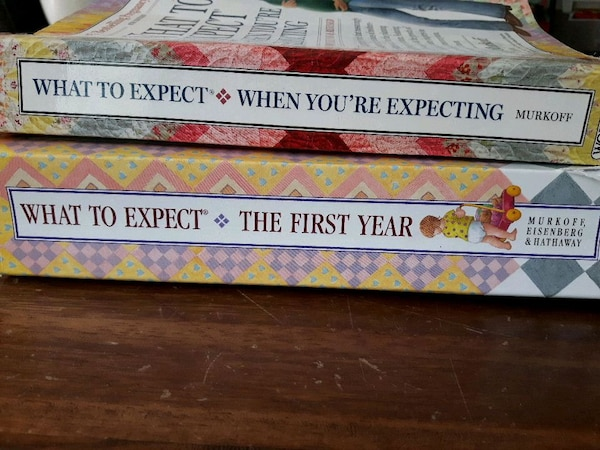 What to expect baby books
