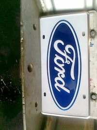 FORD LICENCE PLATE. EDMONTON