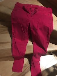 Pink Saks Fifth Avenue super skinny jeans size 28 Washington, 20024