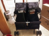 Dog stroller and carry case