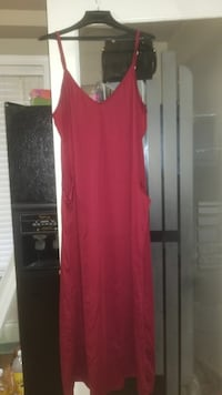 women's red spaghetti strap maxi dress Surrey, V4N 1B5