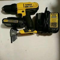 Dewalt 20 v Lithium Ion Drill w/ Battery and Charg Frederick, 21701