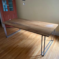 Dining Table w/ Steel Legs