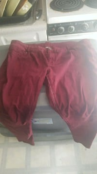Burgundy maurices jeggings  Westminster, 21157