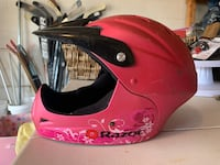 Razor Full Face Youth Helmet, satin pink Mc Lean, 22101